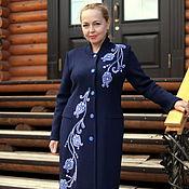 "Одежда handmade. Livemaster - original item Knitted coat ""Magical patterns"". Handmade."