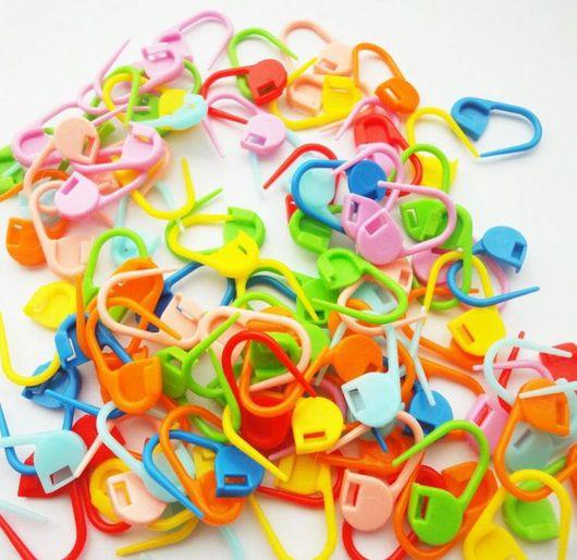 Вязание ручной работы. Ярмарка Мастеров - ручная работа. Купить Маркеры цветные для вязания. Handmade. Маркер, маркеры для вязания, пластик