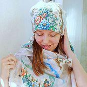 Аксессуары handmade. Livemaster - original item Warm felted hat