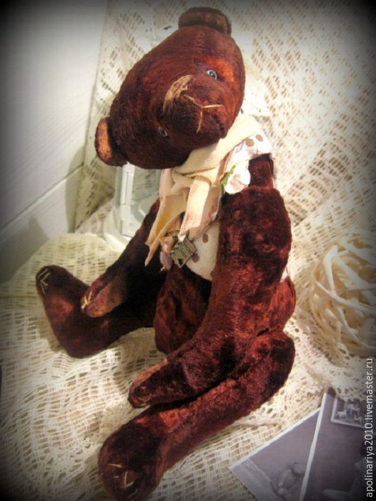 Мишки Тедди ручной работы. Ярмарка Мастеров - ручная работа. Купить Secret Love...мишка-тедди.... Handmade. Тедди, коричневый