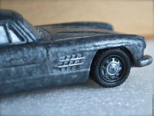 Мыло ручной работы. Ярмарка Мастеров - ручная работа. Купить Мыло Mercedes-Benz. Машина, автомобиль. Handmade. Комбинированный, mercedes