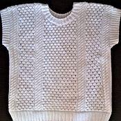 Одежда ручной работы. Ярмарка Мастеров - ручная работа Джемпер-жилет ручной работы. Handmade.