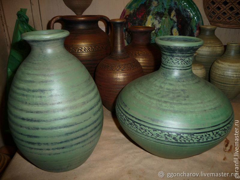 Бутылка керамическая