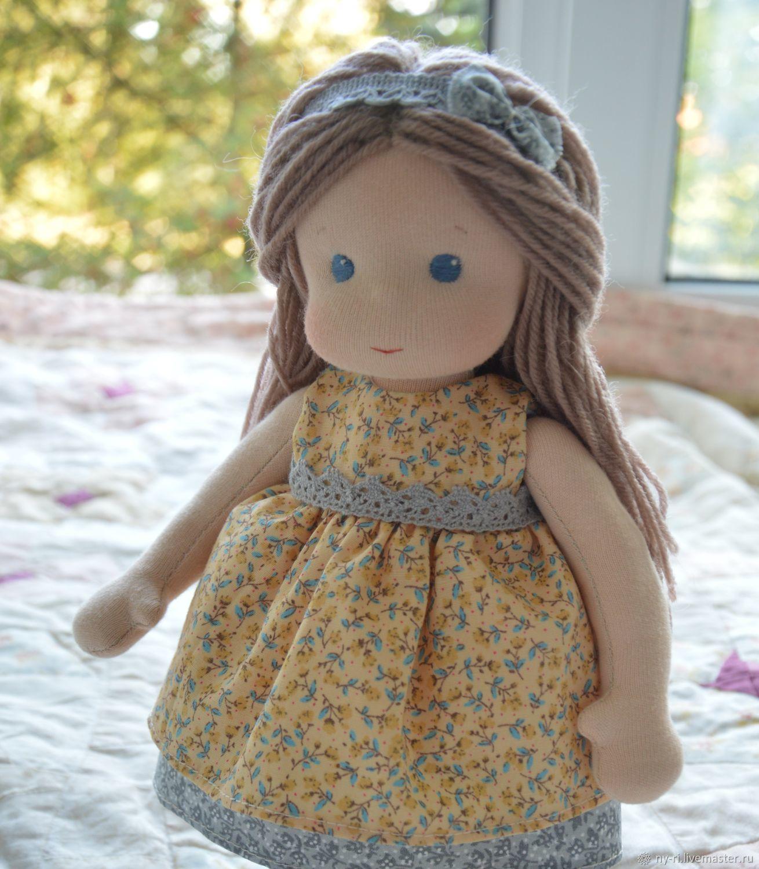 Вальдорфская кукла Цветик, Вальдорфская игрушка, Таруса, Фото №1