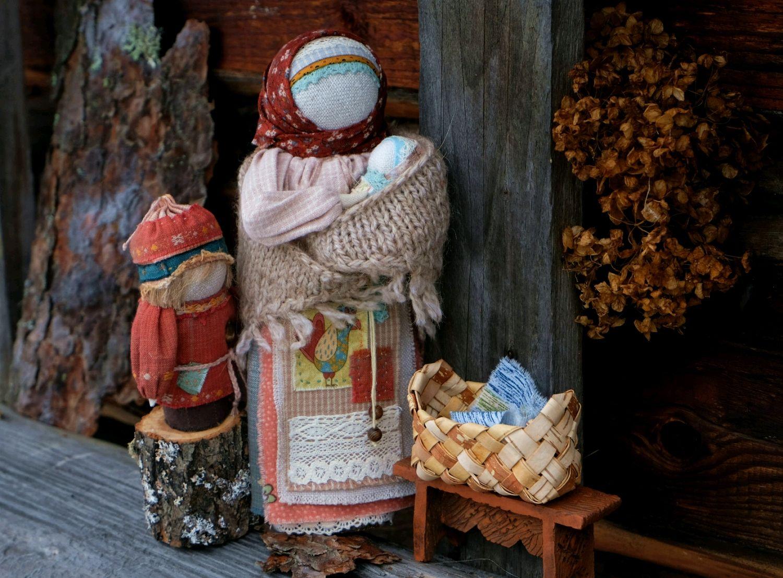 Бабушка или Второй внук Кукла образ по мотивам народной куклы, Куклы и пупсы, Новокузнецк,  Фото №1