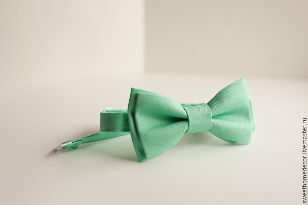 Двойная галстук-бабочка мастер класс