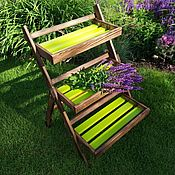 Цветы и флористика handmade. Livemaster - original item Stand-ladder