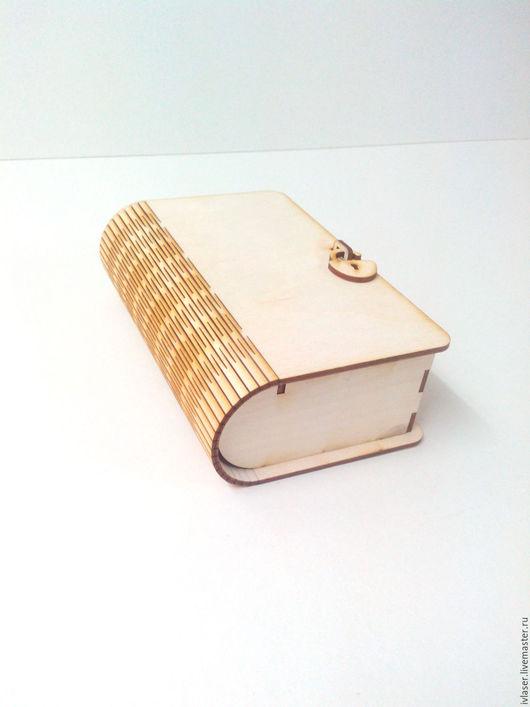 IVL-201-3 Шкатулка книжка купюрница заготовка для декупажа из фанеры