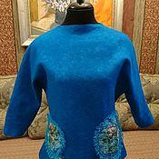 Одежда ручной работы. Ярмарка Мастеров - ручная работа Джемпер голубка. Handmade.
