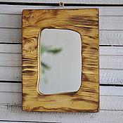 Mirror handmade. Livemaster - original item Mirror interior wall Board wooden Oak light. Handmade.