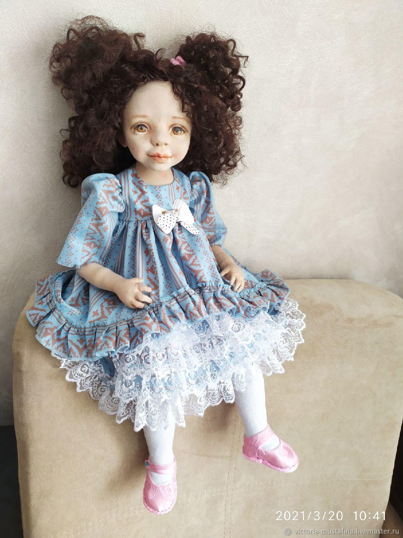 Авторская текстильная кукла Елизавета, Куклы и пупсы, Касли,  Фото №1