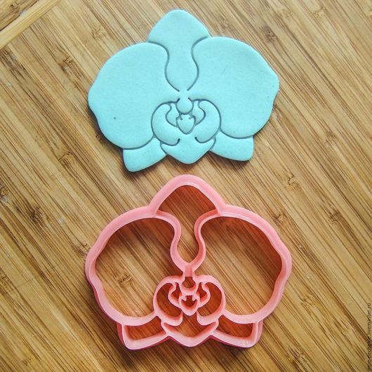 Орхидея.  Вырубка-штамп для пряников, печенья, мастики, поделок из соленого теста.