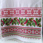 Русский стиль handmade. Livemaster - original item The big wedding towel. Handmade.
