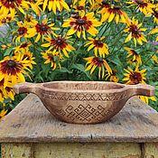 Посуда handmade. Livemaster - original item Bowl, candy Bowl made of wood. Carved ethnic tableware. Handmade. Handmade.