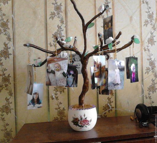 Персональные подарки ручной работы. Ярмарка Мастеров - ручная работа. Купить Семейное дерево. Handmade. Комбинированный, семья, интерьер