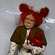 """Коллекционные куклы ручной работы. Ярмарка Мастеров - ручная работа. Купить """"Это не я"""". Handmade. Разноцветный, масляные краски"""