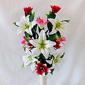 Для дома и интерьера handmade. Livemaster - original item Bouquet-lamp Lilies