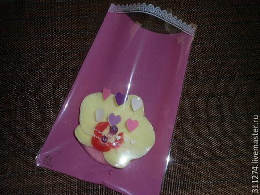 Упаковка ручной работы. Ярмарка Мастеров - ручная работа. Купить Пакет для упаковки подарка.. Handmade. Розовый, упаковка для косметики