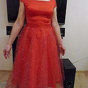 Одежда ручной работы. Ярмарка Мастеров - ручная работа платье нарядное женское, платье шелковое женское, платье летнее женско. Handmade.