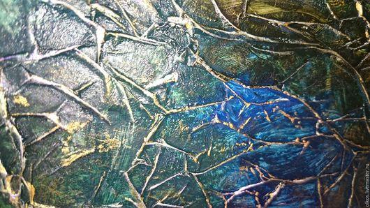 Зеркала ручной работы. Ярмарка Мастеров - ручная работа. Купить Сине-зеленое тонированное настенное зеркало графит в раме ручной работ. Handmade.