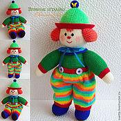 """Куклы и игрушки ручной работы. Ярмарка Мастеров - ручная работа """"Клоун"""" вязаная кукла. Handmade."""