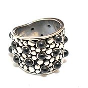 Украшения handmade. Livemaster - original item Silver ring onyx Stained. Handmade.