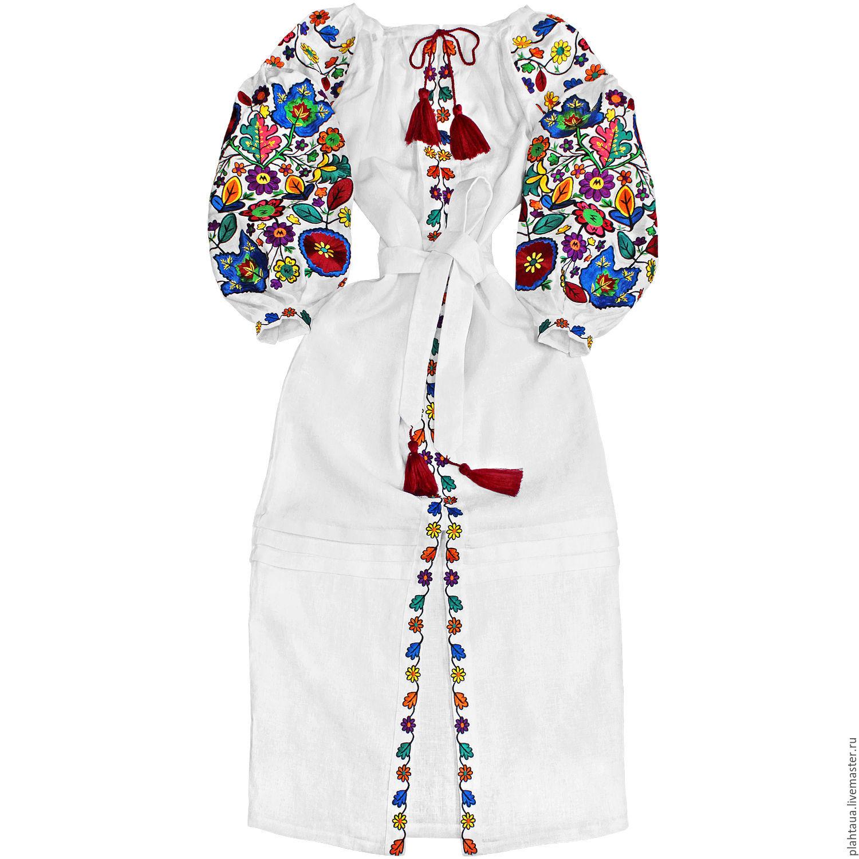 """Длинное платье """"Буковинские Цветочки"""", Dresses, Kiev,  Фото №1"""