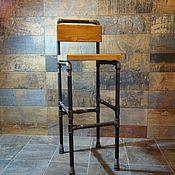 """Стулья ручной работы. Ярмарка Мастеров - ручная работа Барный стул """"Хорс"""" стиль Loft. Handmade."""