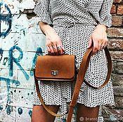 Классическая сумка ручной работы. Ярмарка Мастеров - ручная работа Кожаная женская сумка, ручная работа. Handmade.
