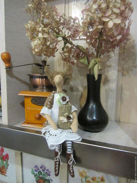 Куклы Тильды ручной работы. Ярмарка Мастеров - ручная работа. Купить Кофейная Феня. Handmade. Коричневый, прованский стиль