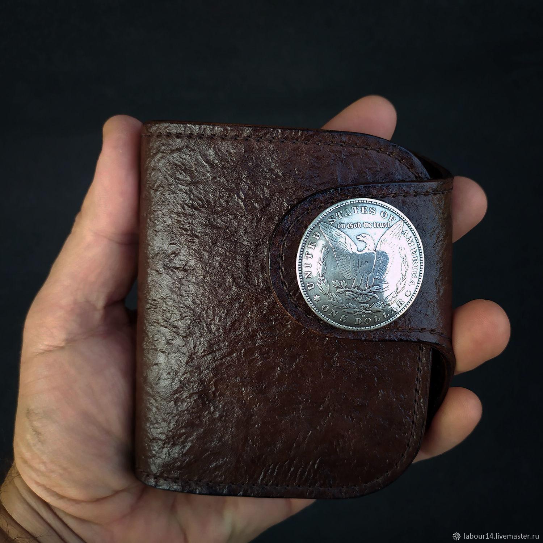 Leather purse Liberty 2, Wallets, Sevsk,  Фото №1