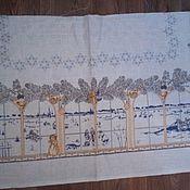 Ткани ручной работы. Ярмарка Мастеров - ручная работа 473.Кусочки павловопосадских скатертей для салфеток и мешочков. Handmade.
