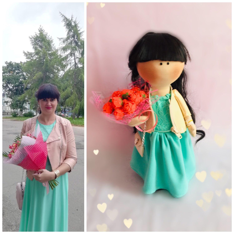 Кукла по фото, Портретная кукла, Вологда,  Фото №1
