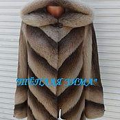 Одежда handmade. Livemaster - original item FUR COAT NATURAL FUR NUTRIA. Handmade.