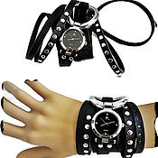 Субкультуры handmade. Livemaster - original item Watch long strap -