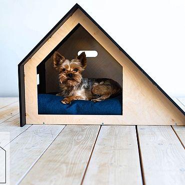 Товары для питомцев ручной работы. Ярмарка Мастеров - ручная работа Домик Loft Slide для собак и кошек. Handmade.