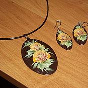 Украшения handmade. Livemaster - original item a set of jewelery