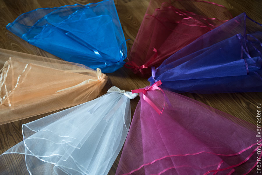 Bridal veil for bachelorette party, Wedding veils, Moscow,  Фото №1