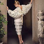 """Одежда ручной работы. Ярмарка Мастеров - ручная работа Светлое платье """"Крылья Ангела"""".. Handmade."""
