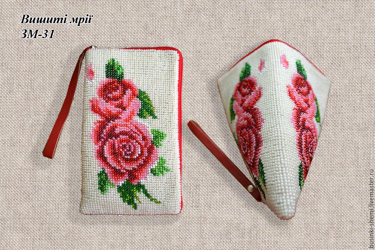 Заготовки для вышивки бисером чехлов для мобильных телефонов 89