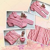 Работы для детей, handmade. Livemaster - original item Jumpsuit pink. Handmade.