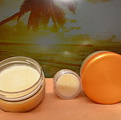Косметика ручной работы handmade. Livemaster - original item Moisturizing whipped body butter with natural UV filter. Handmade.