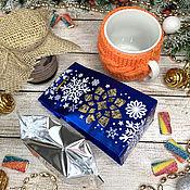 Сувениры и подарки handmade. Livemaster - original item New Year`s set Have a nice tea party. Handmade.