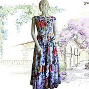 """Одежда ручной работы. Ярмарка Мастеров - ручная работа Платье """"Летний сад"""". Handmade."""