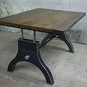 Для дома и интерьера ручной работы. Ярмарка Мастеров - ручная работа Стол в стиле Лофт. Handmade.