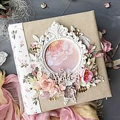 Фотоальбомы ручной работы. Ярмарка Мастеров - ручная работа Свадебный фотоальбом. Handmade.