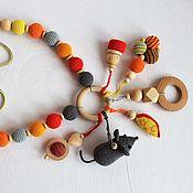 "Одежда handmade. Livemaster - original item Slingobusy with a toy ""Mouse"". Handmade."