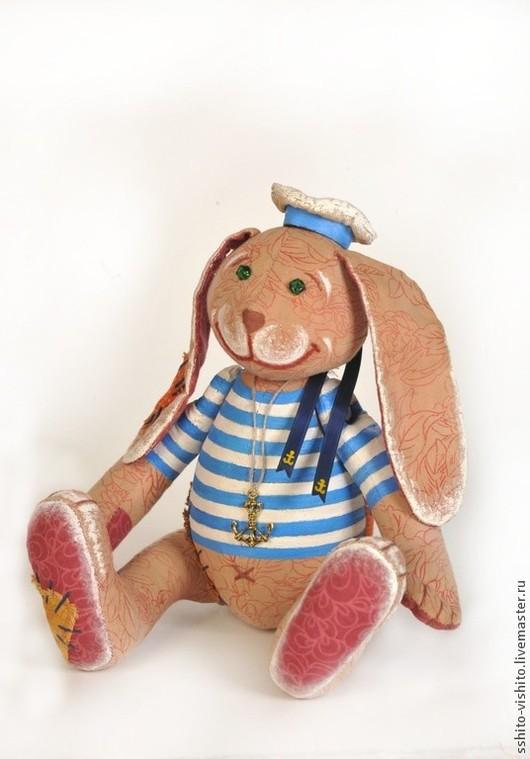 Куклы и игрушки ручной работы. Ярмарка Мастеров - ручная работа. Купить Набор для шитья игрушки Заяц - Повелитель Морей. Handmade.
