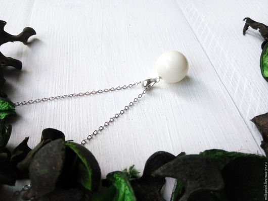 Кулоны, подвески ручной работы. Ярмарка Мастеров - ручная работа. Купить Серебряная подвеска с камнем из грудного молока. Handmade.
