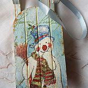 """Подарки к праздникам ручной работы. Ярмарка Мастеров - ручная работа Набор елочных игрушек """"Волшебный Новый год"""". Handmade."""